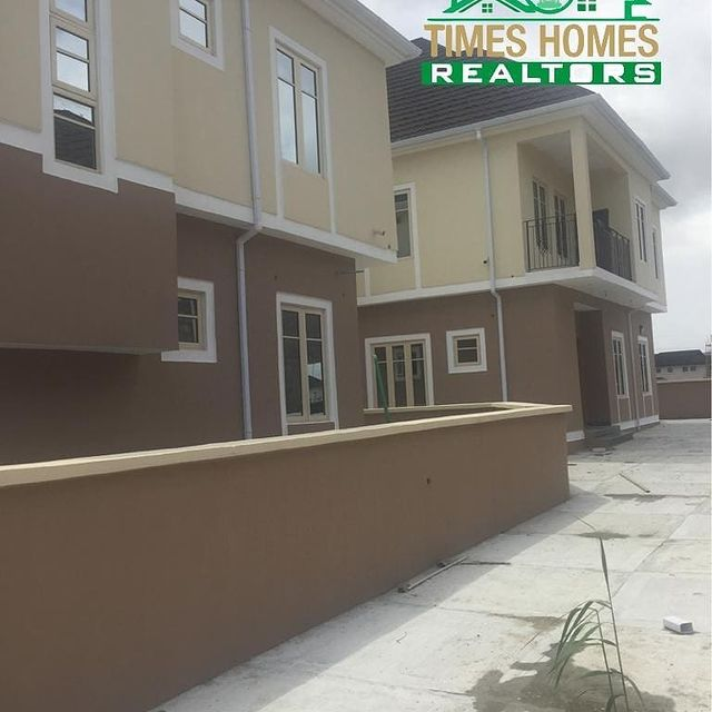 Contemporary 4 Bedroom Fully Detached Twin Duplexes With Boy's Quarters For Sale