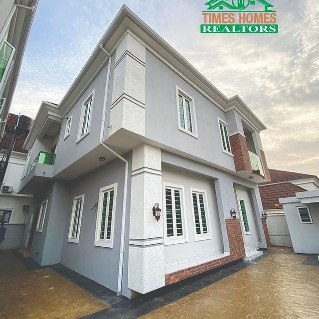 Newly Completed 5 Bedroom Fully Detached Duplex With Boy's Quarter For Sale