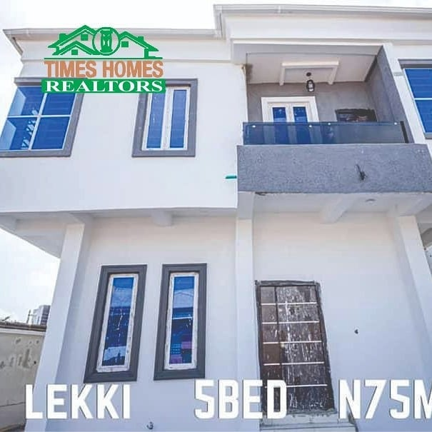 Newly Built 5 Bedroom Fully Detached Duplex With Boy's Quarter For Sale