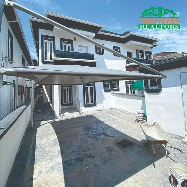 Stunning 4 Bedroom Semi Detached Duplex With Boy's Quarter For Sale