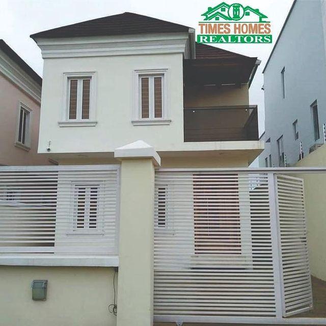 Contemporary 5 Bedroom Duplex With Boy's Quarter For Sale